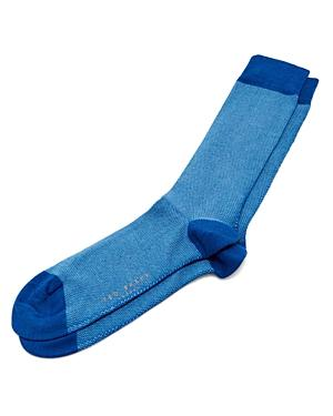 Ted Baker Joaquim Textured Socks In Blue