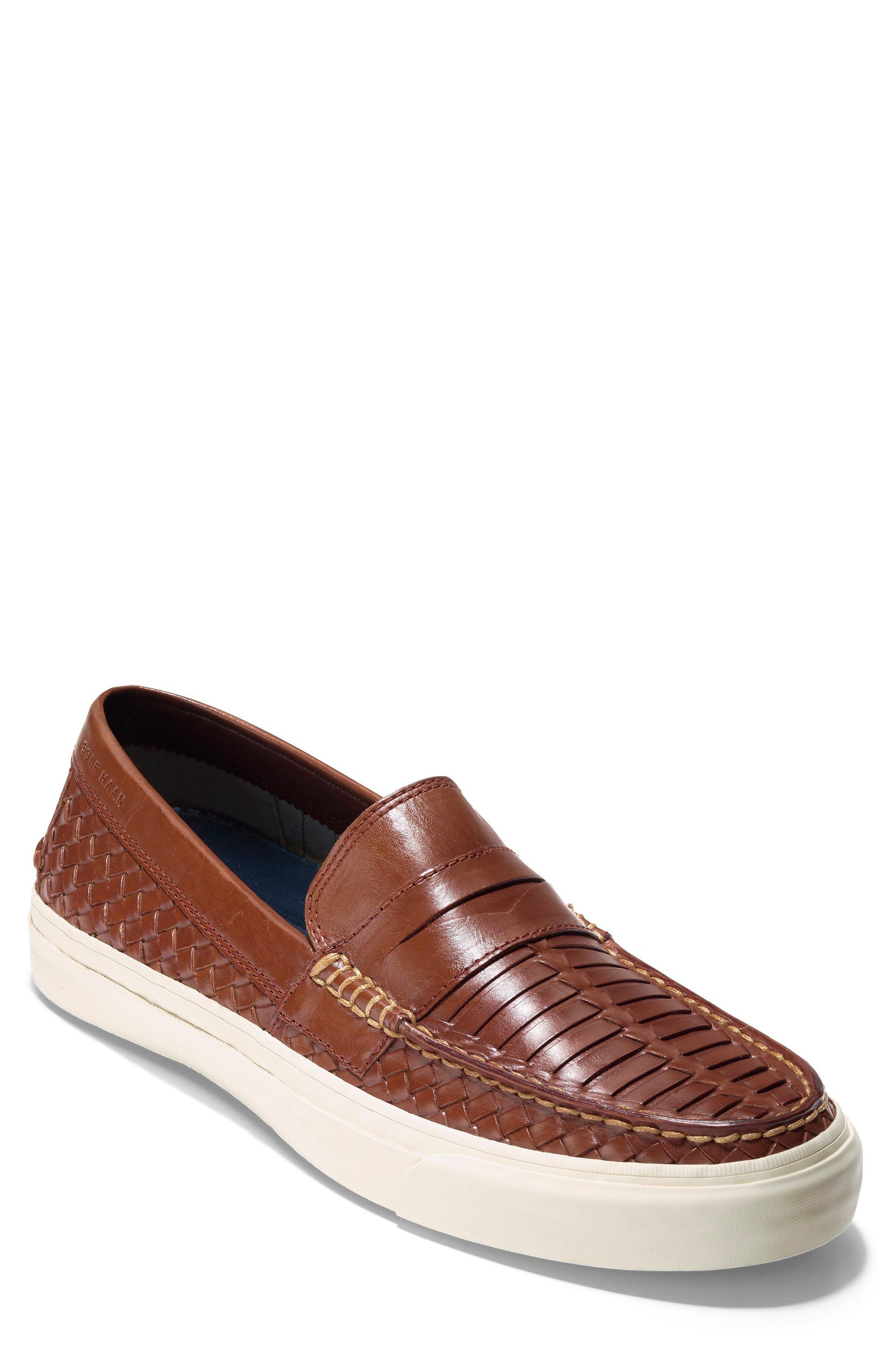 c7f6bacba9a2 Cole Haan Pinch Weekender Lx Huarache Loafer In Woodbury Woven Burnish