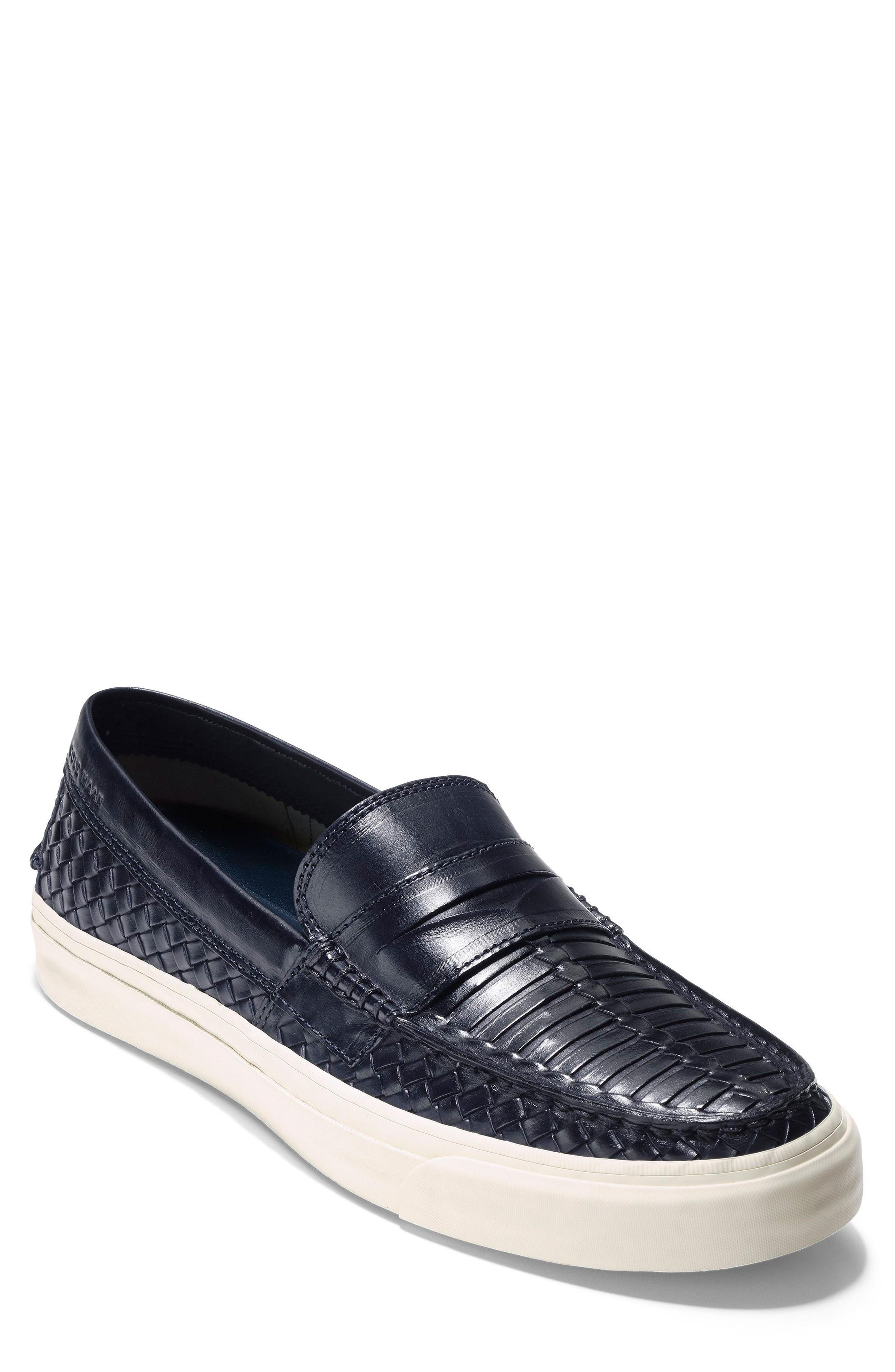 27f170be58b Cole Haan Pinch Weekender Lx Huarache Loafer In Navy Woven Burnish ...
