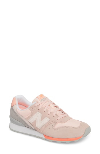 New Balance 696 Suede Sneaker In Sunrise Glow