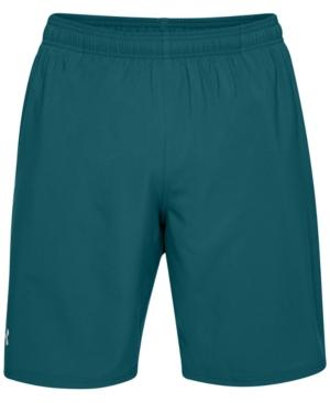 """Under Armour Men's Launch 9"""" Woven Shorts In Tourmaline Teal"""