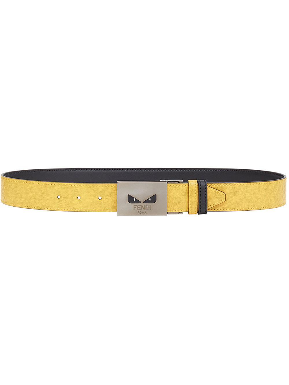 c16566bc0026 FENDI. Fendi Bag Bugs Buckled Belt - Red