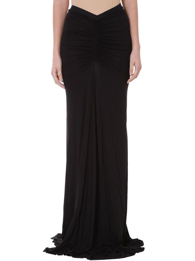 8826666e52 Rick Owens Woman Wrap-Effect Cotton-Jersey Maxi Skirt Black | ModeSens
