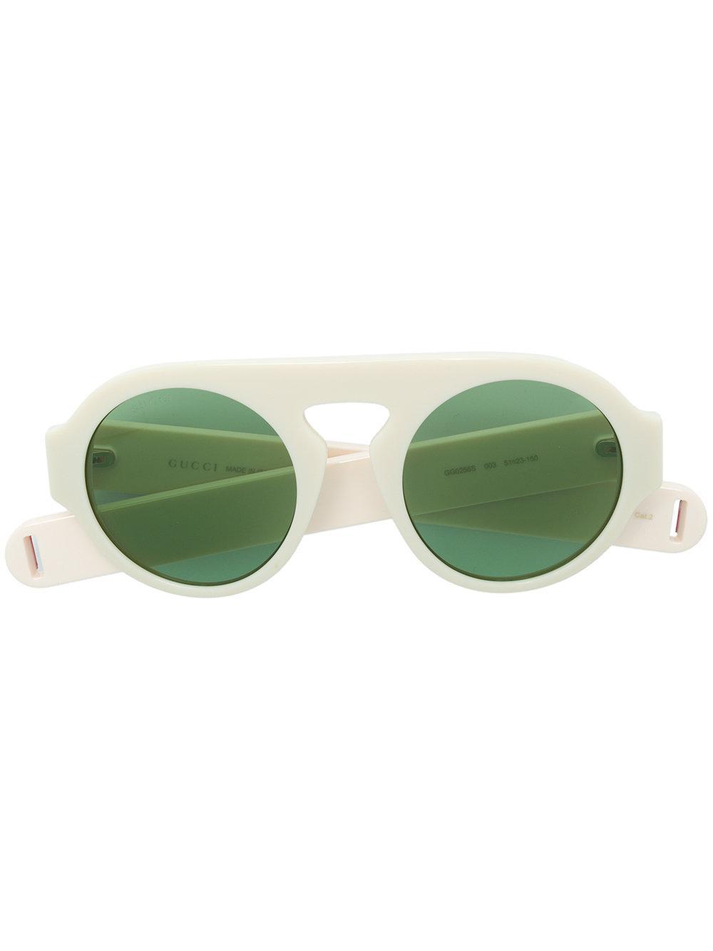 2b095a43963 Gucci Eyewear Aviator-Style Sunglasses - Neutrals