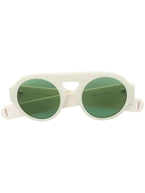 Gucci Aviator-Style Sunglasses In Neutrals