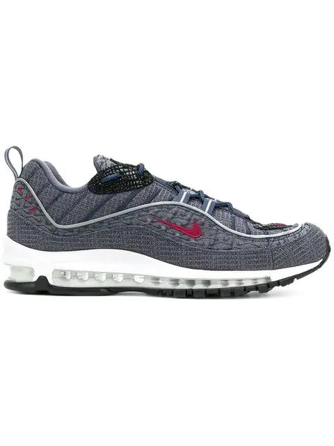 Nike Air Max 98 Qs Jacquard Sneakers - Blue