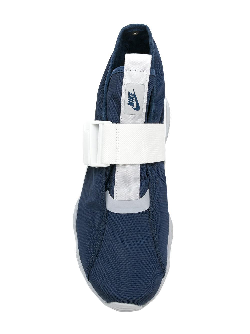 Nike Buckled Slip-on Sneakers In Blue