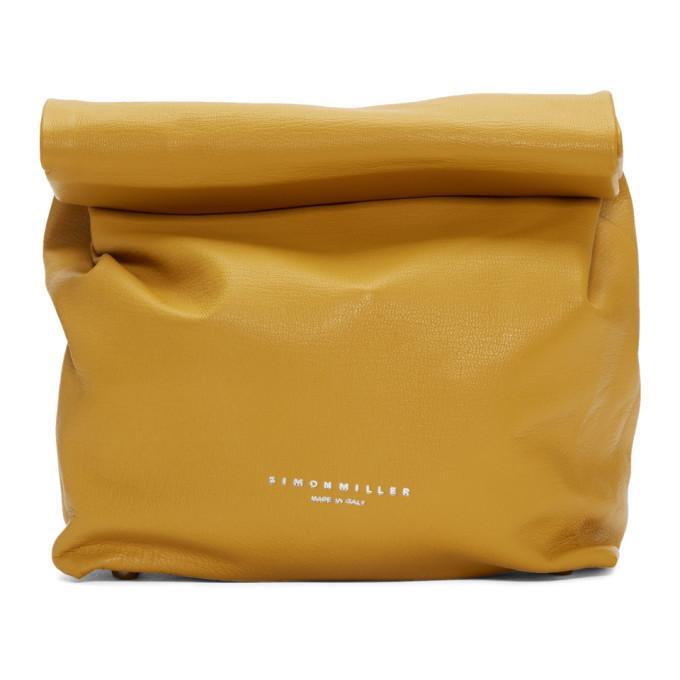 Simon Miller Tan Lunch Bag 20 Clutch In 80935 Sand
