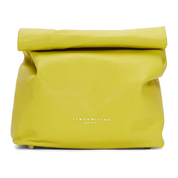 Simon Miller Yellow Lunch Bag 20 Clutch
