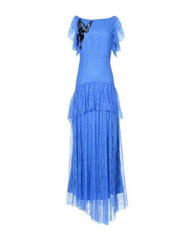 Pinko Long Dress In Blue
