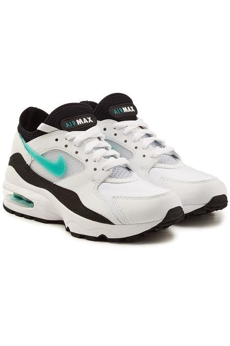 Nike Air Max '93 Sneakers With Leather In White