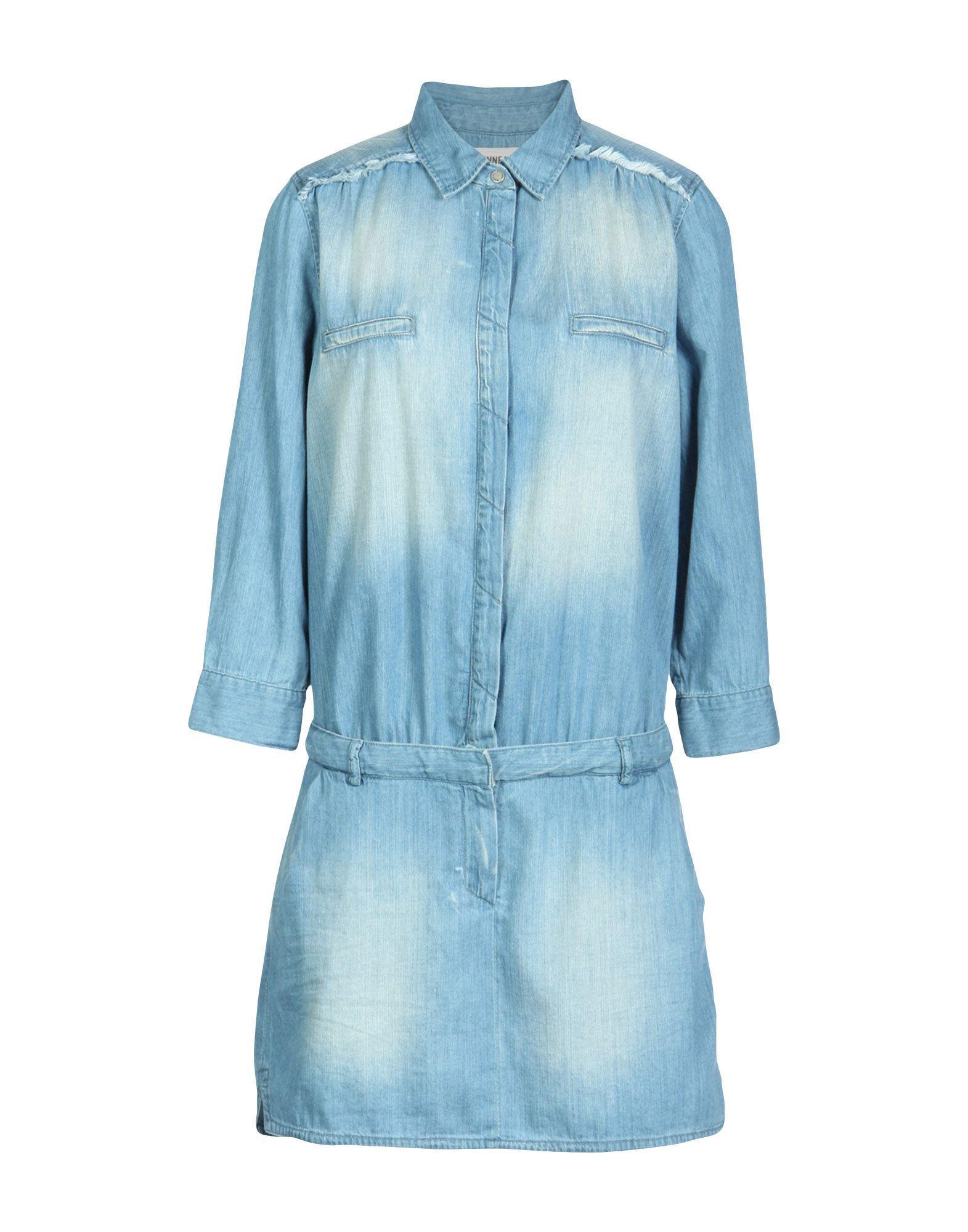 Etienne Marcel Denim Dress In Blue