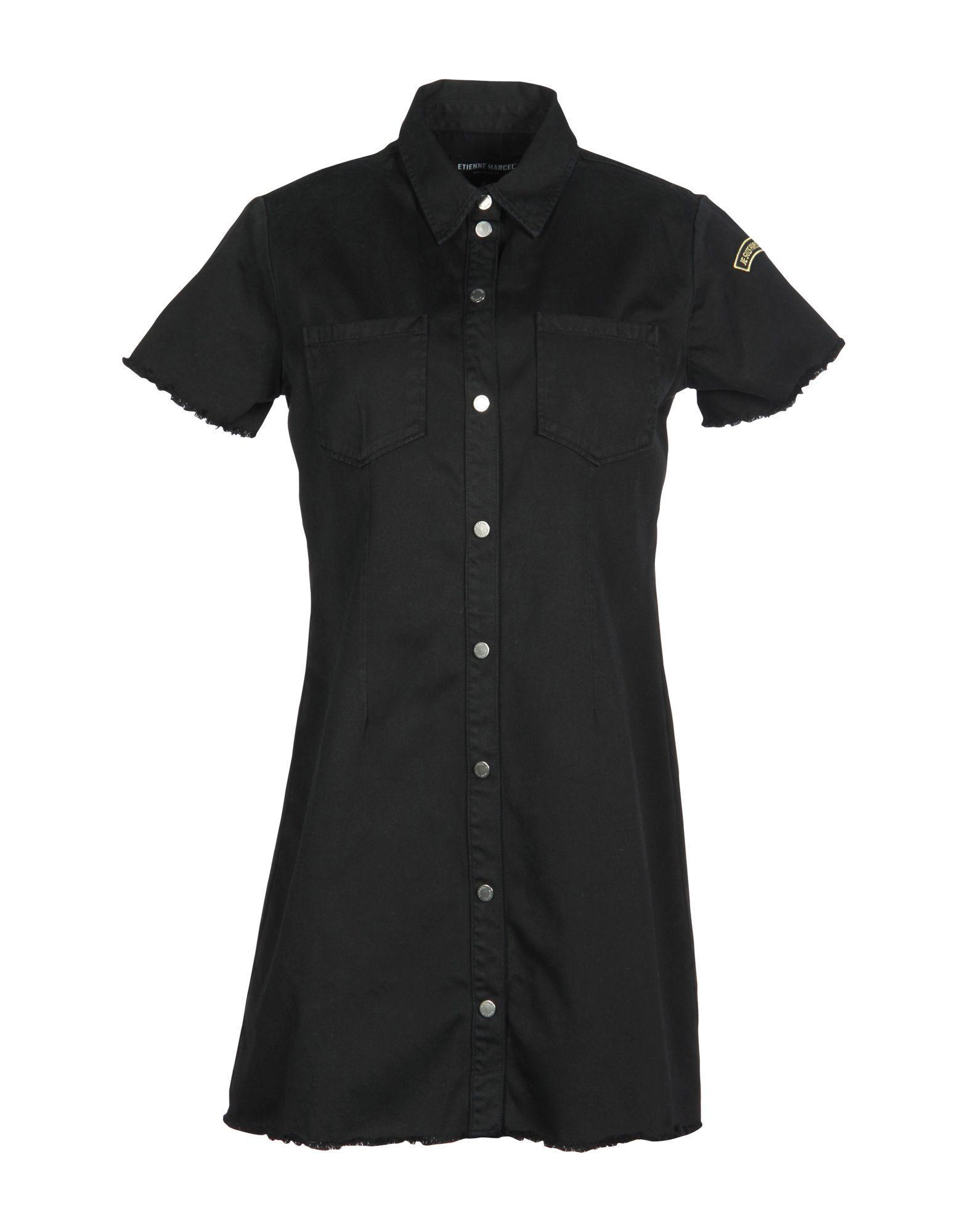 Etienne Marcel Short Dress In Black