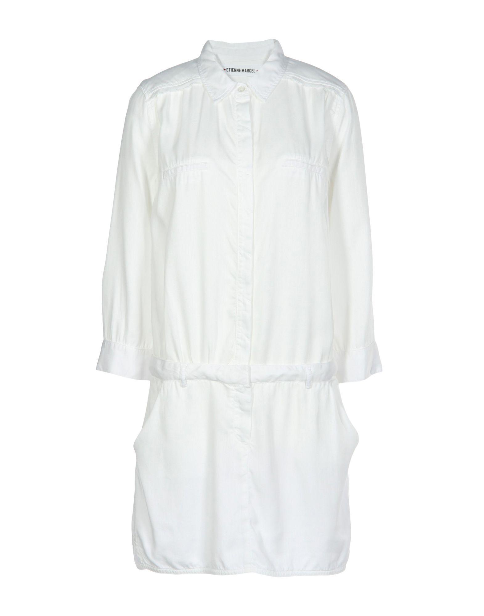 Etienne Marcel Short Dress In White