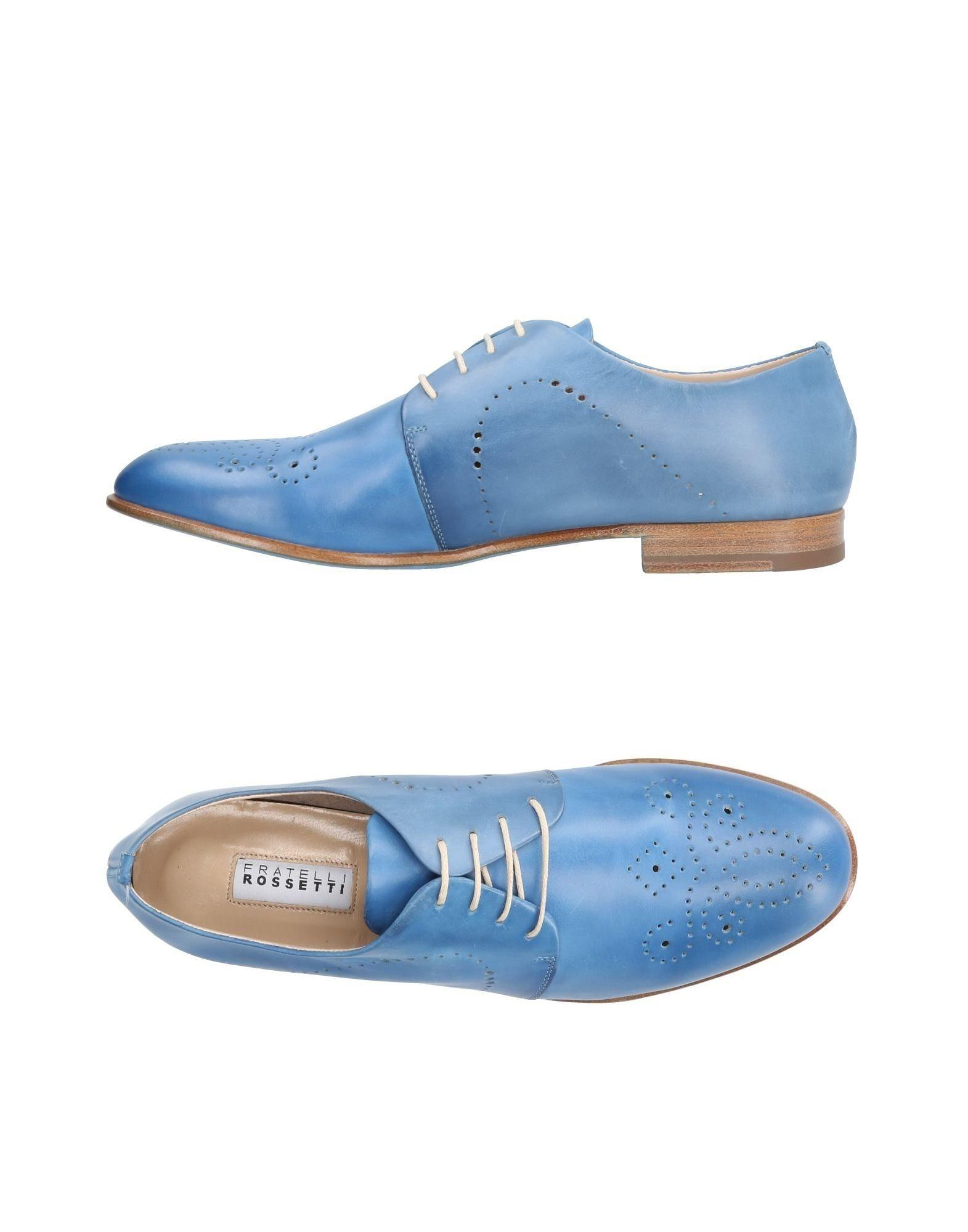 Fratelli Rossetti Laced Shoes In Blue