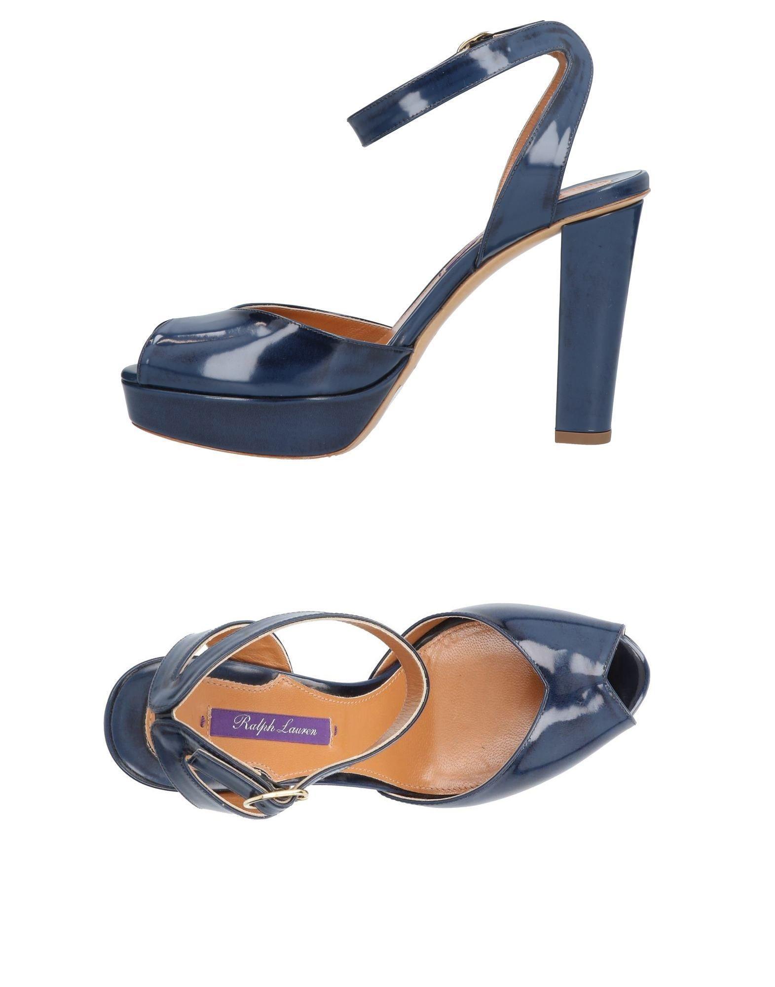Ralph Lauren Sandals In Dark Blue