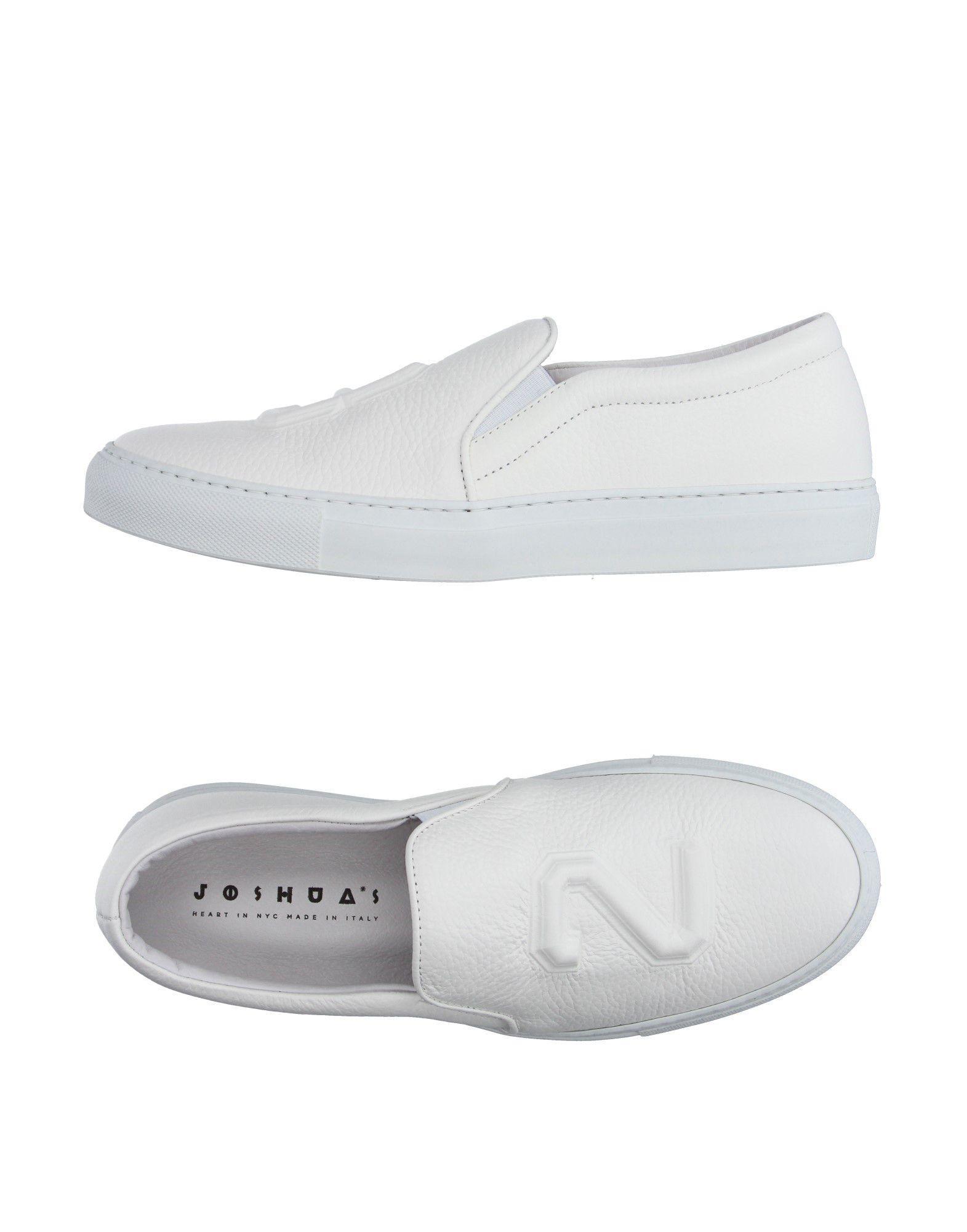 Joshua Sanders Joshua*s Sneakers In White