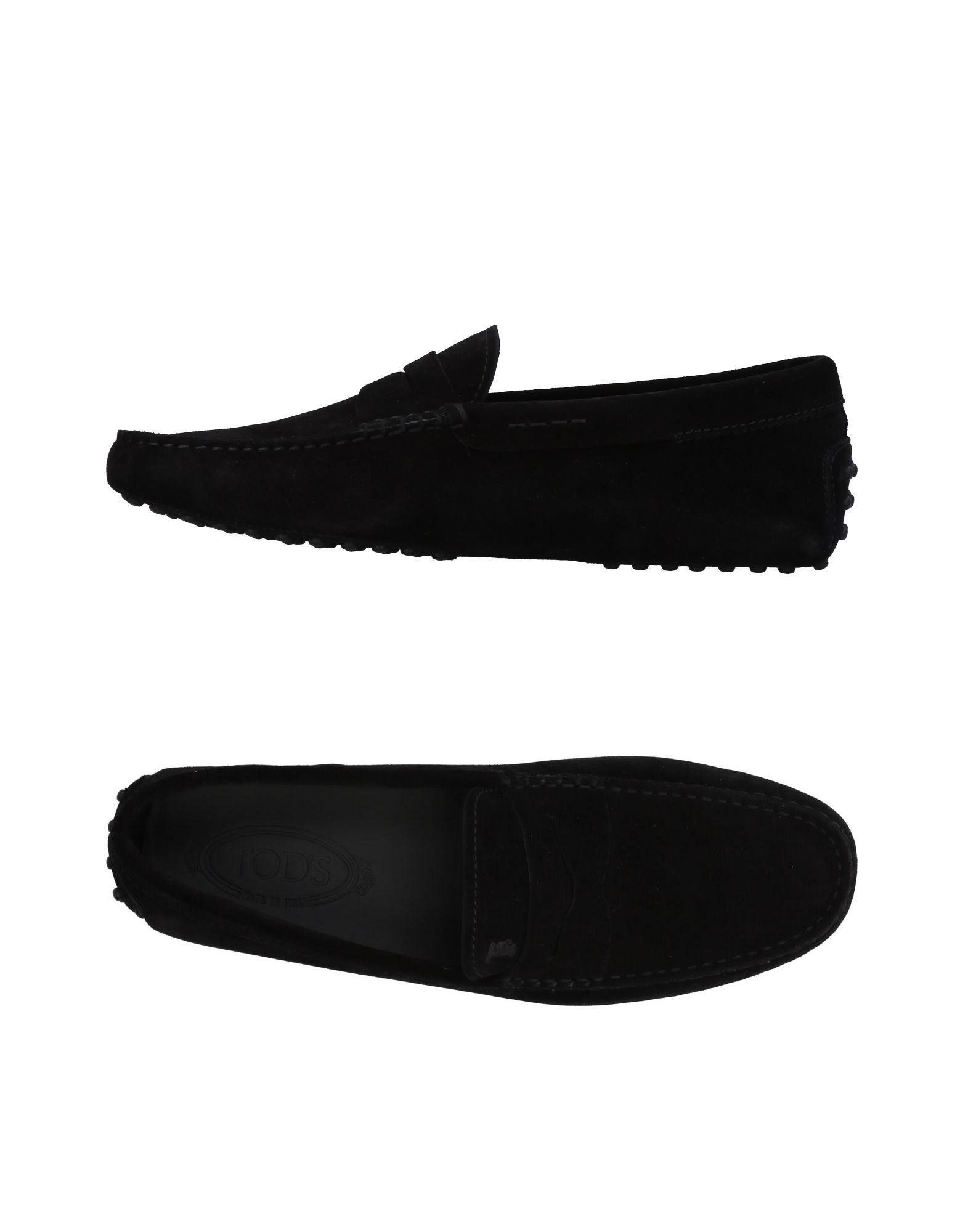 Tod's Loafers In Black