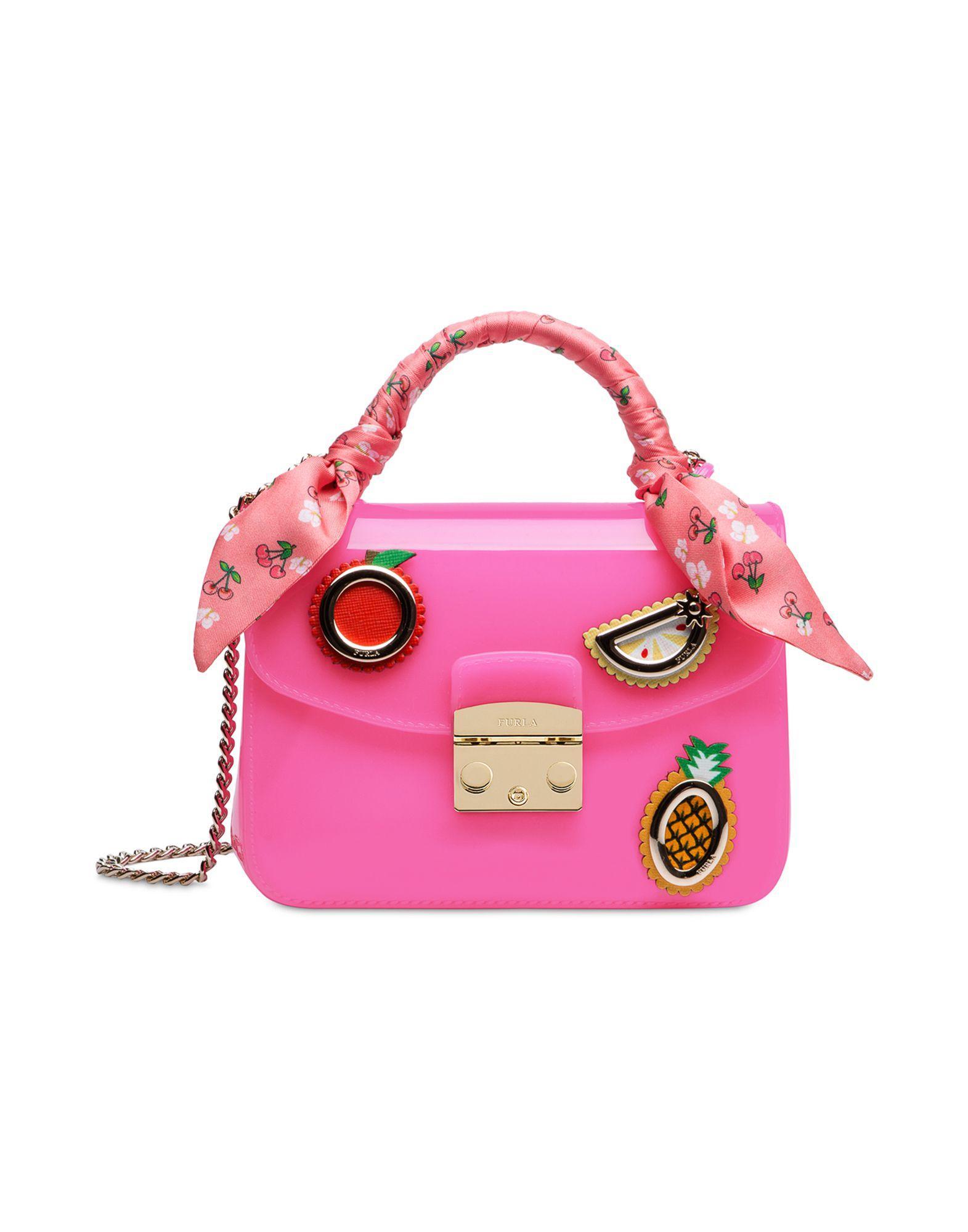 Furla Handbags In Fuchsia