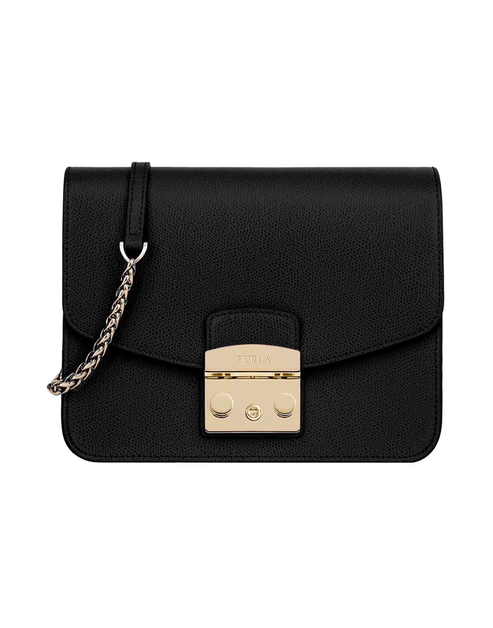 Furla Cross-body Bags In Black