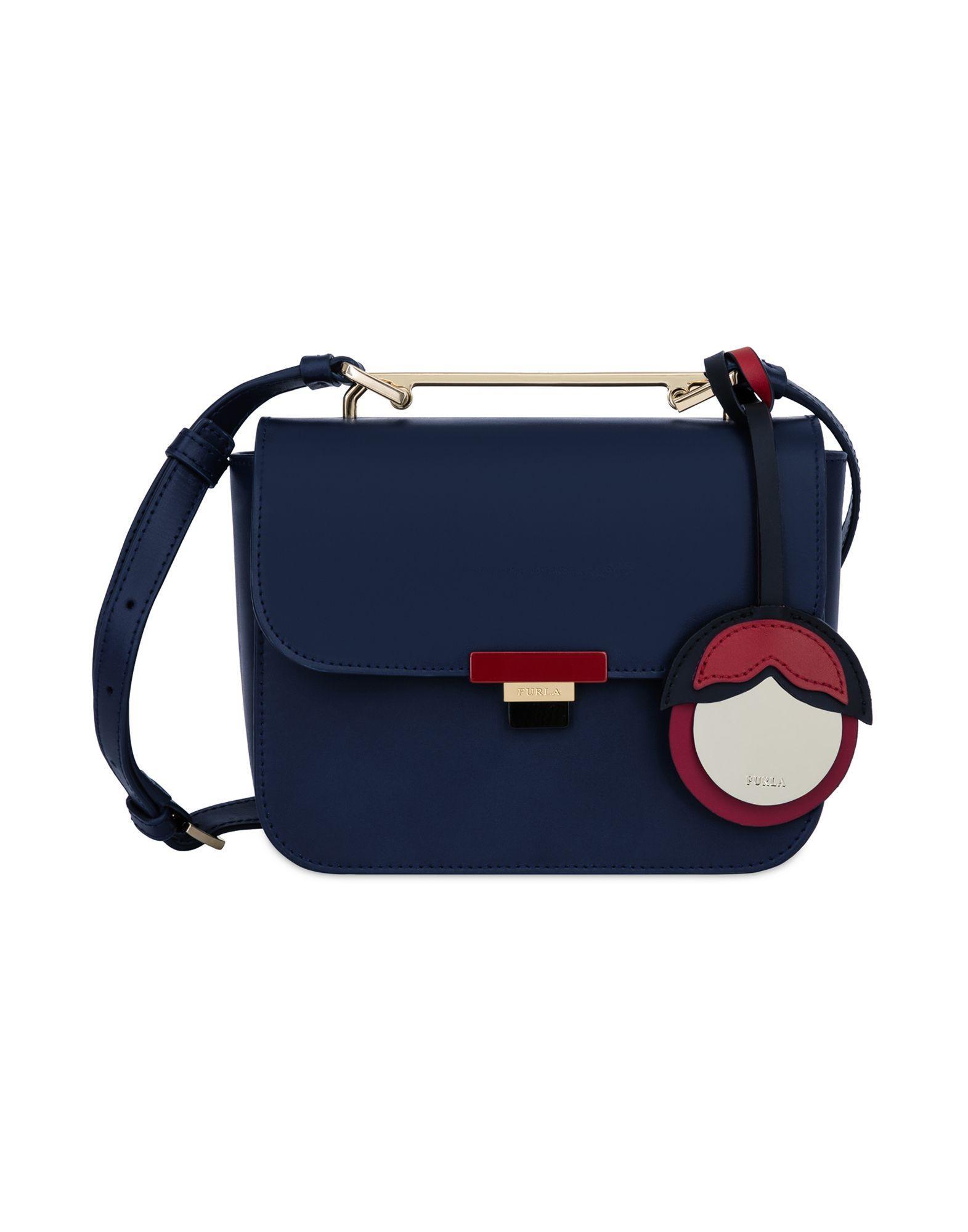 Furla Cross-body Bags In Dark Blue