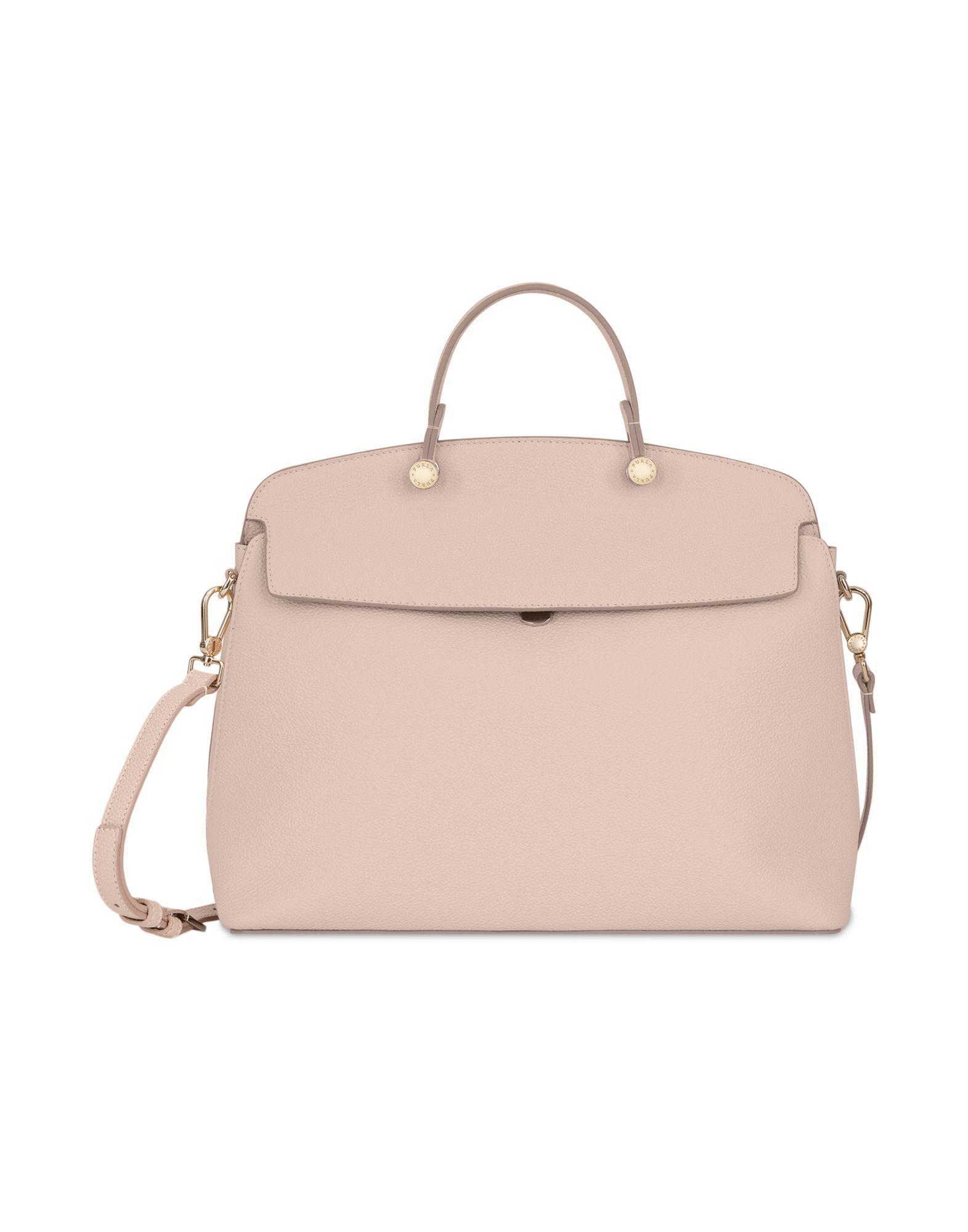 Furla Handbags In Pale Pink