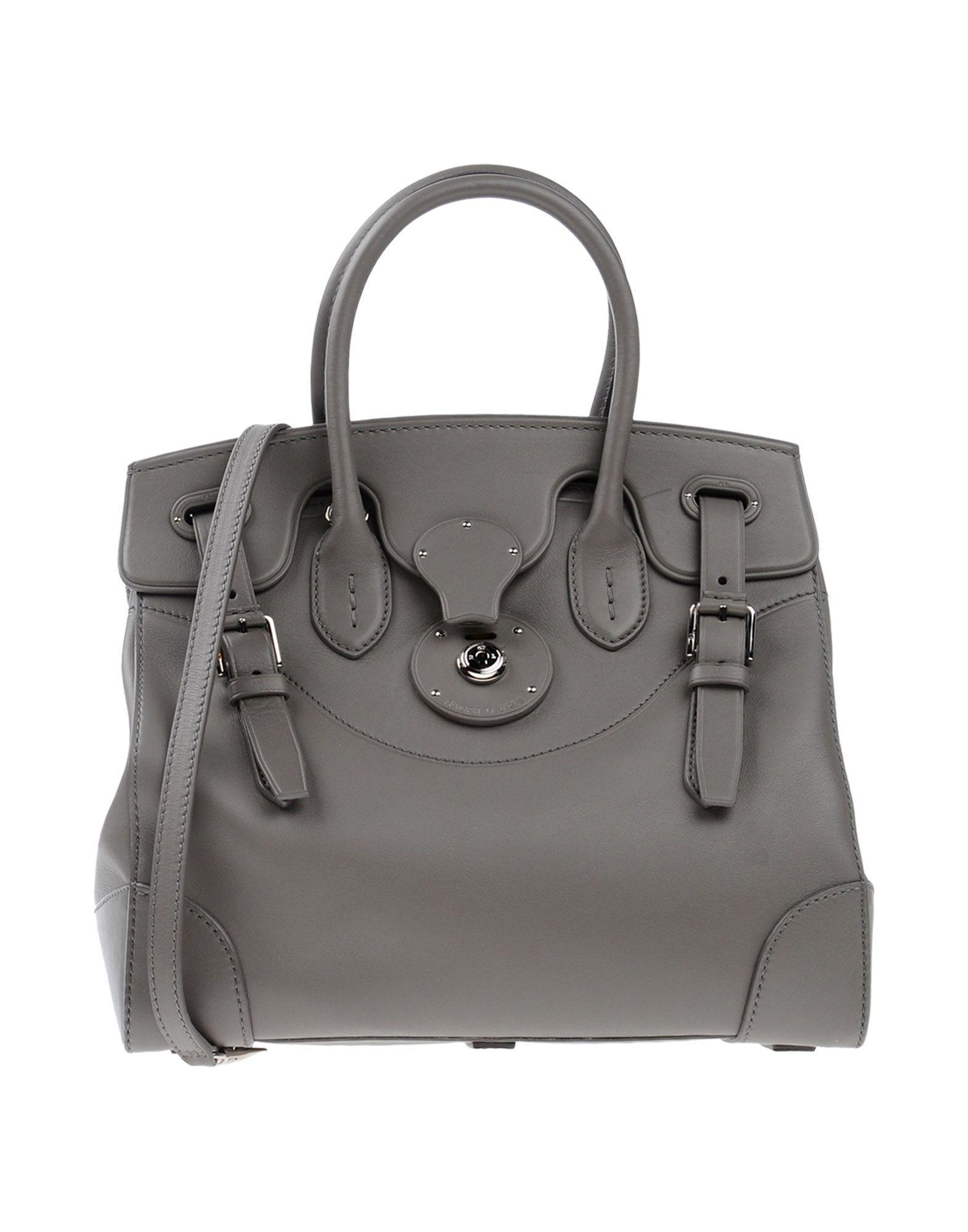 Ralph Lauren Handbags In Grey