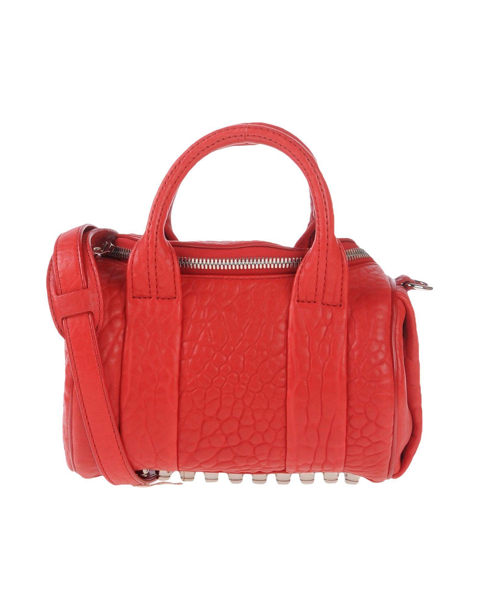 Alexander Wang Handbags In Red