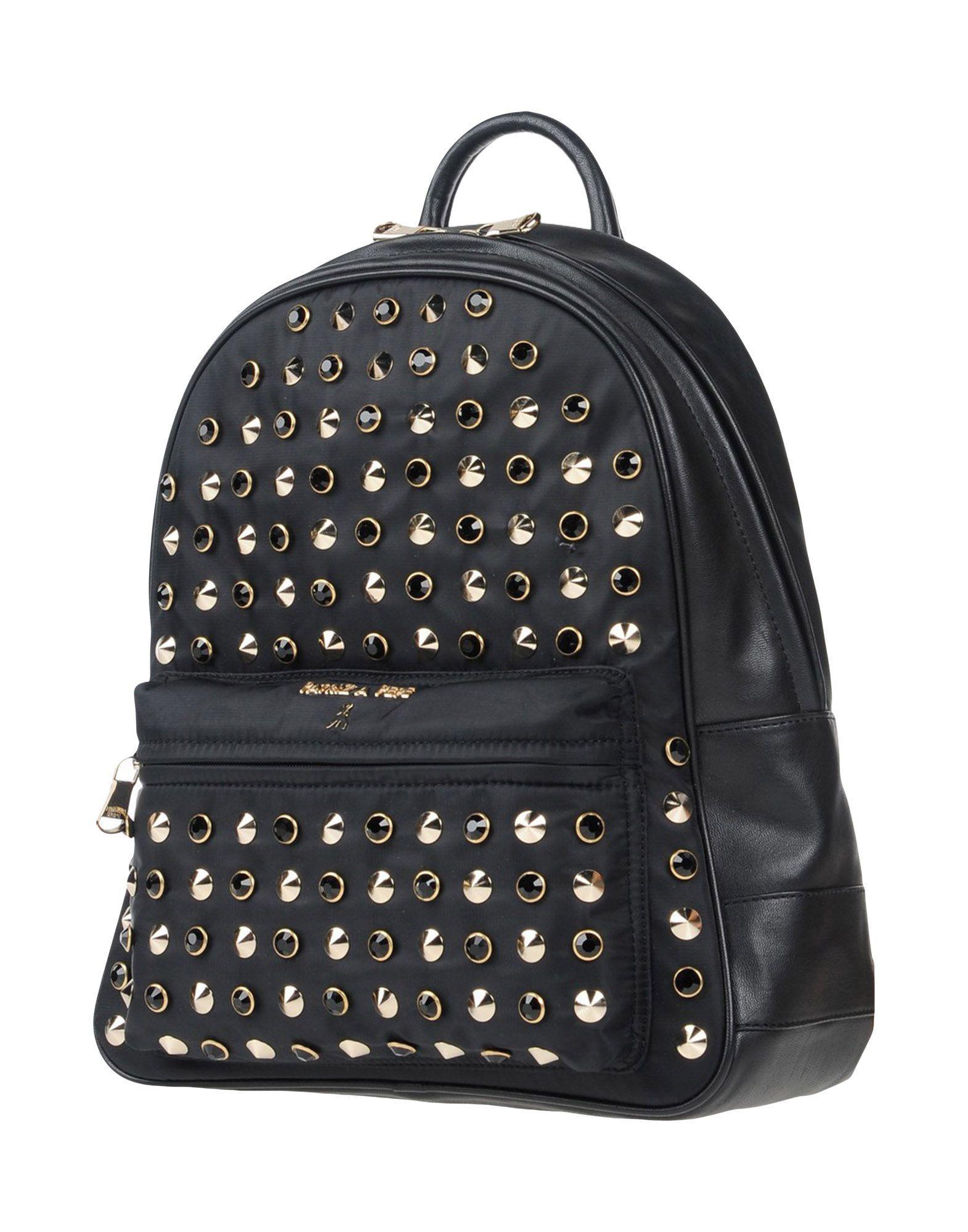 Patrizia Pepe Backpacks & Fanny Packs In Black
