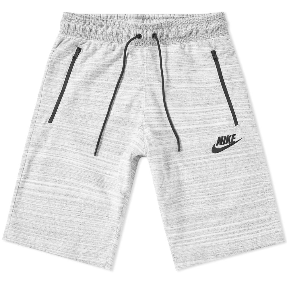 Nike Advance 15 Knit Short In White