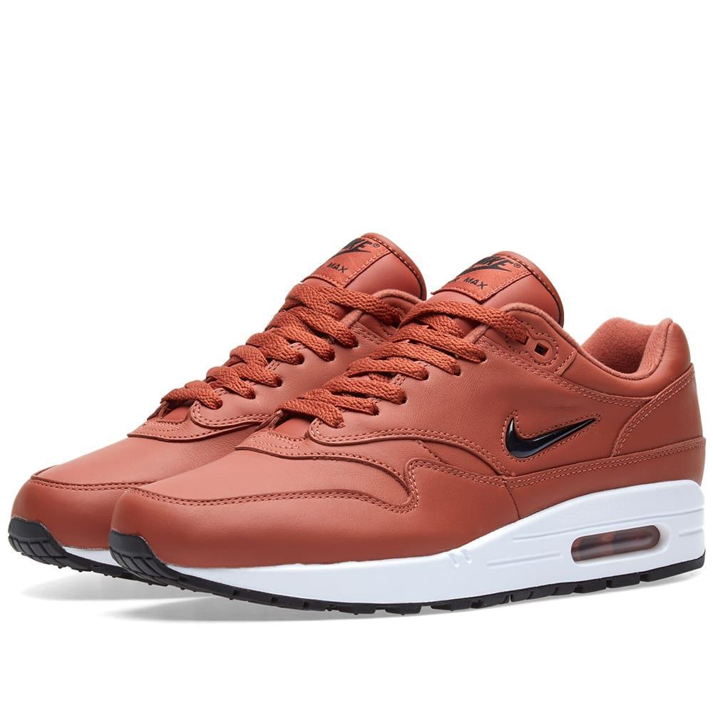 Nike Air Max 1 Jewel In Brown