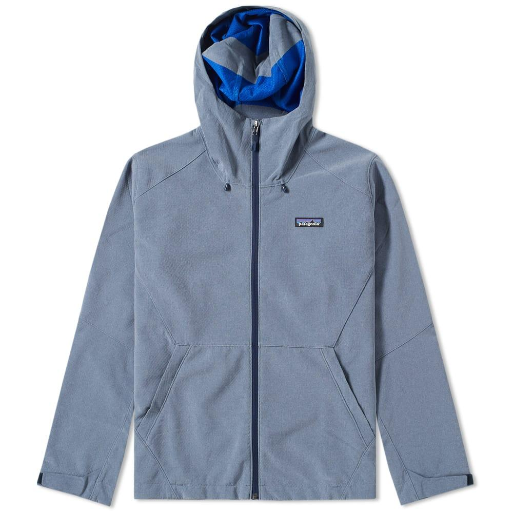 Patagonia Adze Hooded Jacket In Blue