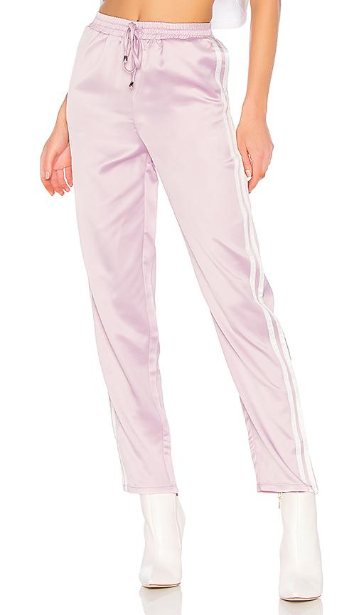 By The Way. Kaya Side Stripe Track Pant In Lavender