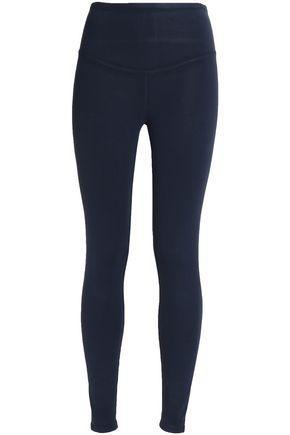 Yummie By Heather Thomson Woman Stretch-jersey Leggings Midnight Blue