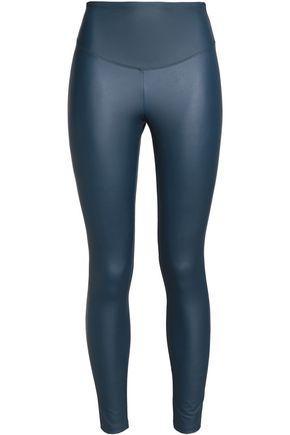 Yummie By Heather Thomson Woman Stretch Leggings Cobalt Blue