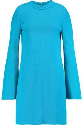 Ellery Woman Duckie Textured-jersey Mini Dress Azure