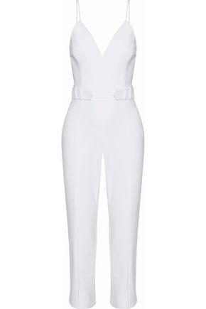 Cushnie Et Ochs Woman Cotton-blend Cady Jumpsuit White