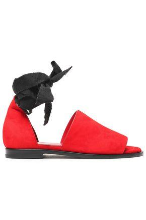 Ellery Woman Suede Sandals Red