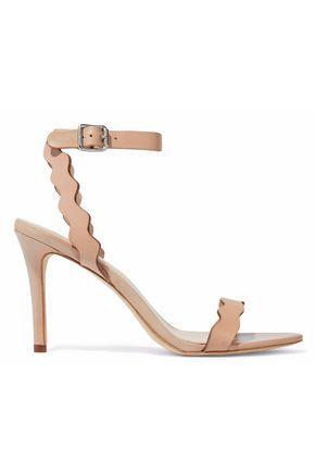 Loeffler Randall Woman Leather Sandals Peach