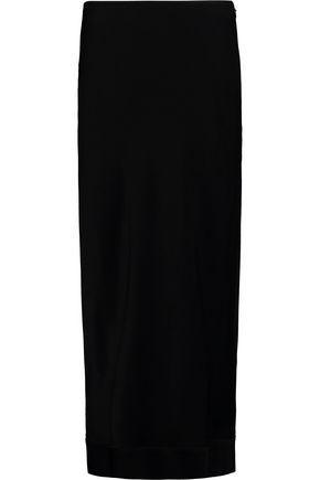 Ellery Woman Tammy Gun Crepe Midi Skirt Black