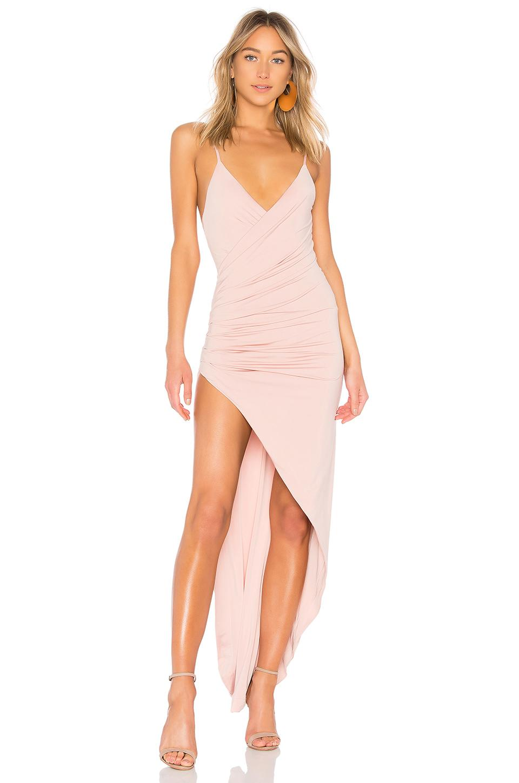 Nbd Princess Bride Gown In Blush Pink