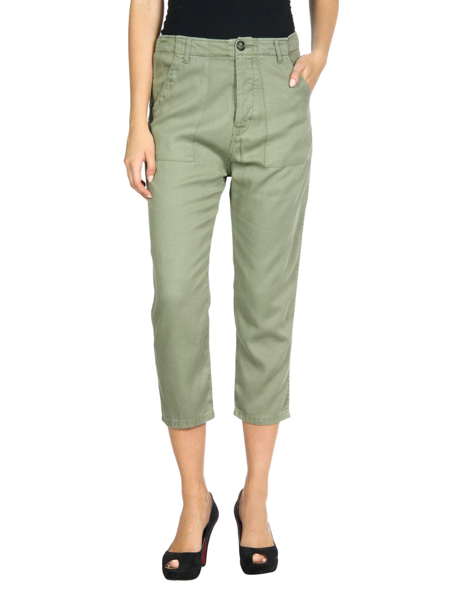 Etienne Marcel Casual Pants In Military Green