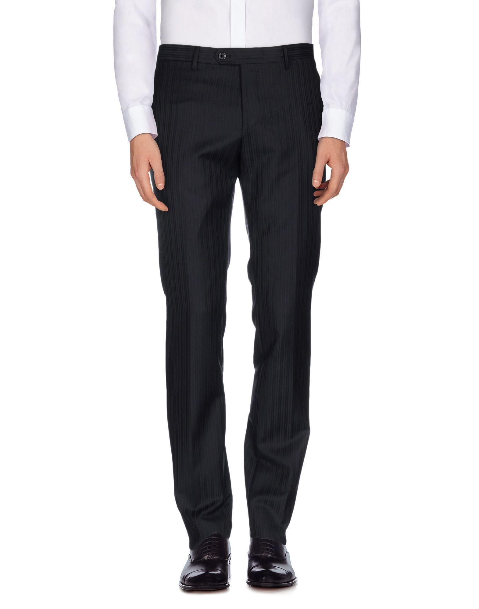 Lardini Casual Pants In Black