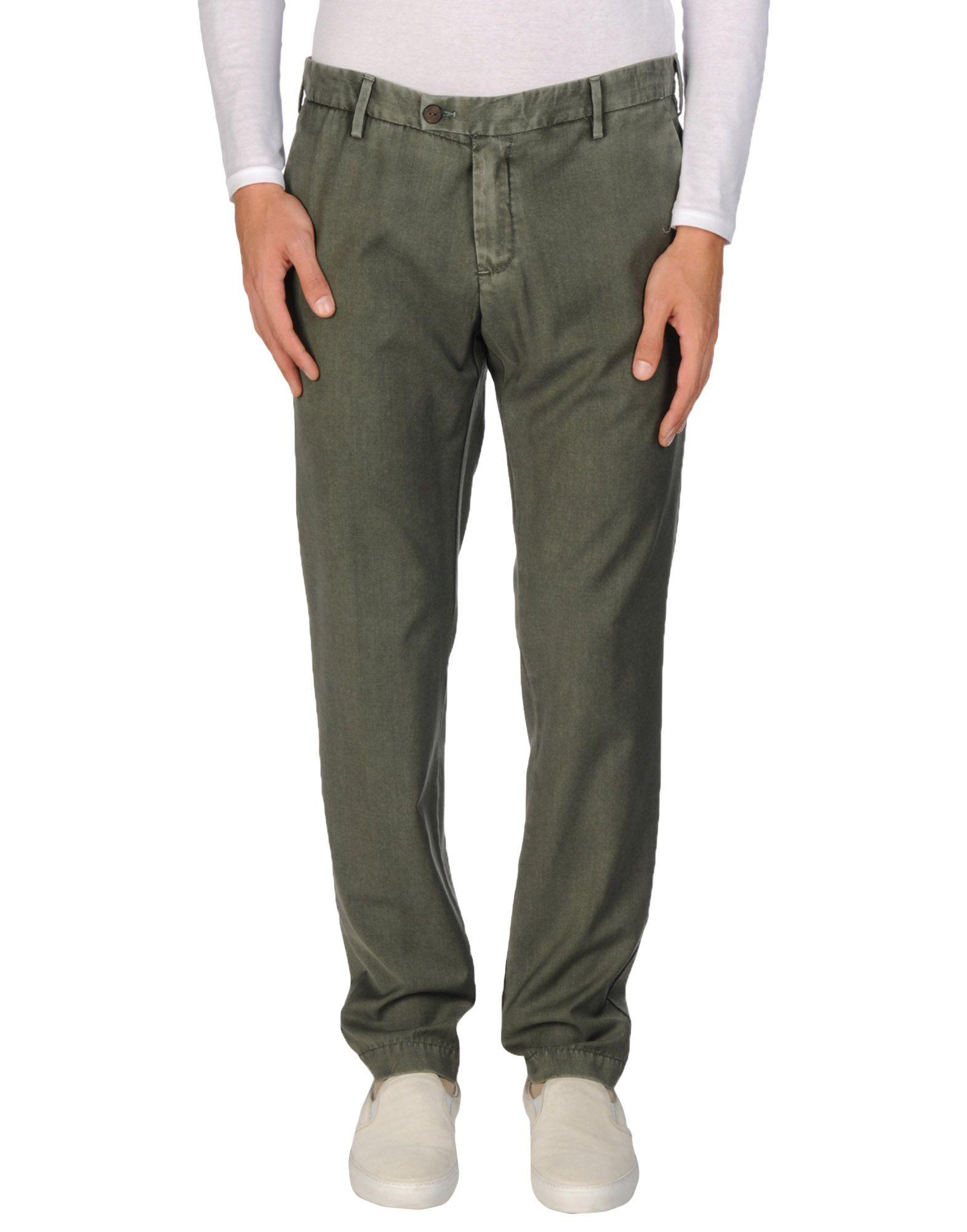 Myths Casual Pants In Dark Green