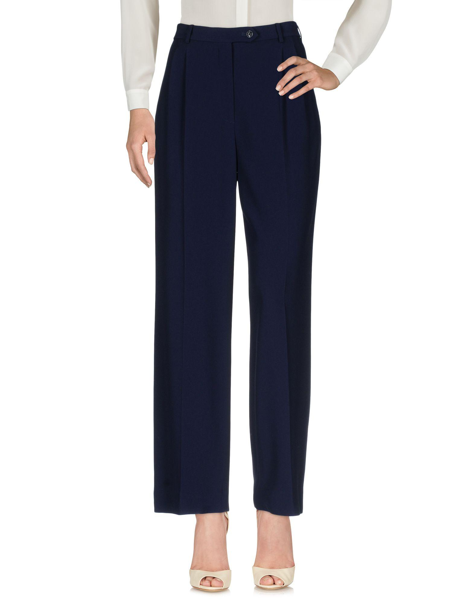 Ralph Lauren Casual Pants In Dark Blue