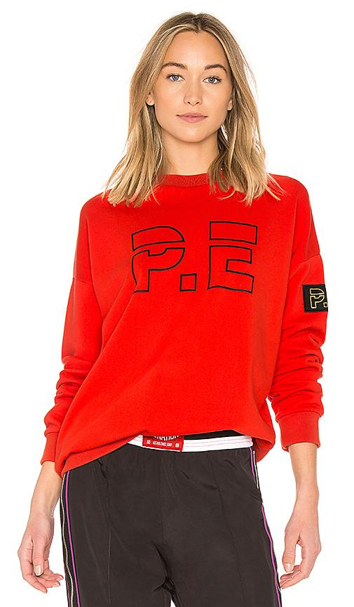 P.e Nation Ringside Sweatshirt In Red