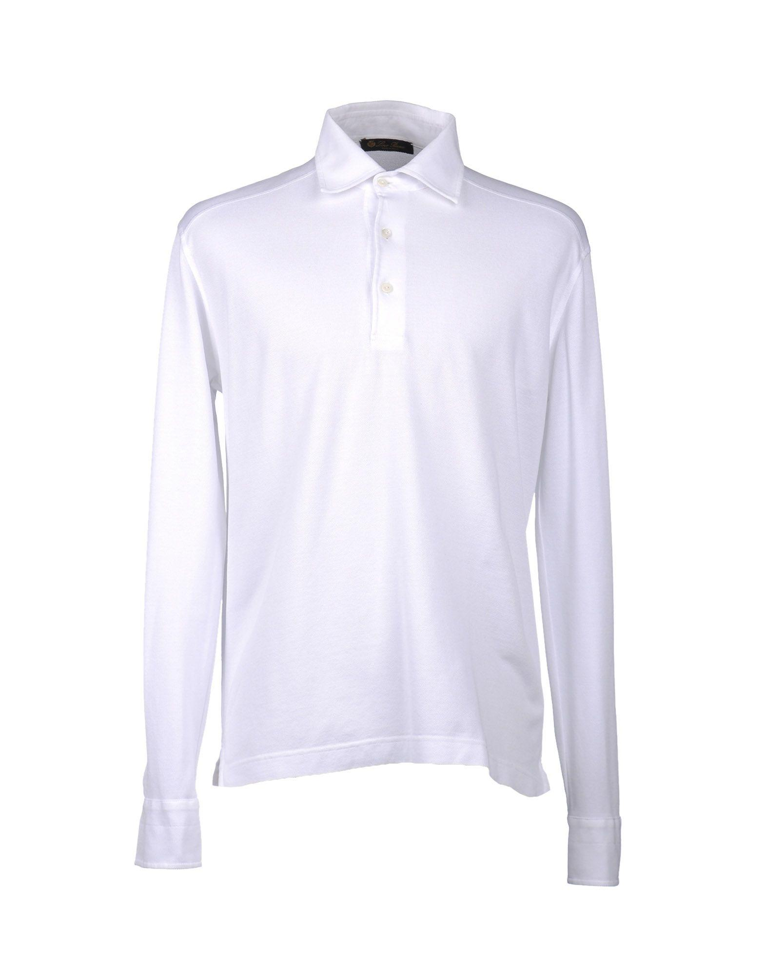 Loro Piana Polo Shirt In White