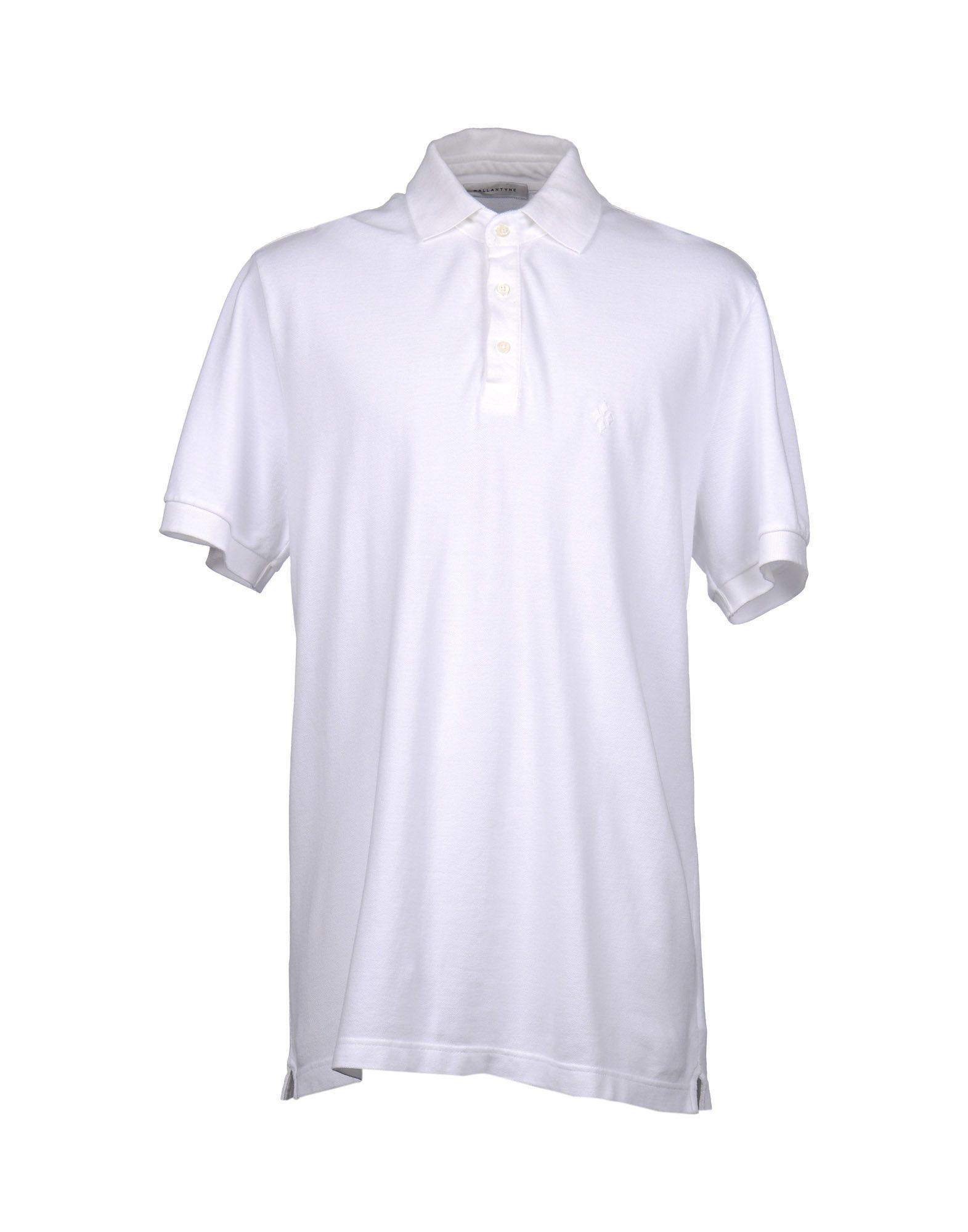 Ballantyne Polo Shirts In White
