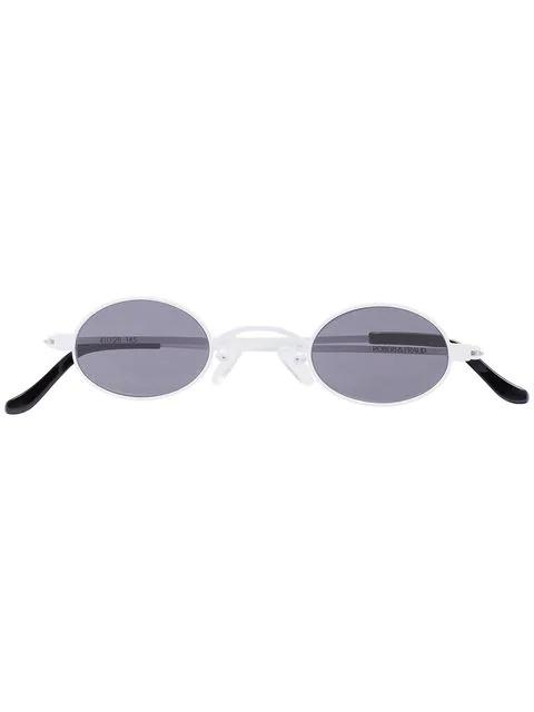 Roberi And Fraud Roberi & Fraud 'doris' Sonnenbrille In White