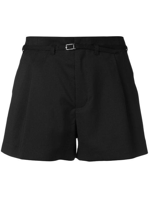 Guild Prime Front Pleat Shorts - Black